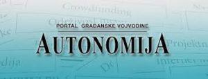 Logo portala Autonomija