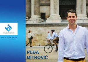 Odbornik Saveza za Srbiju Peđa Mitrović
