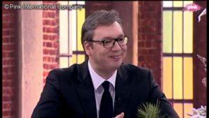 Aleksandar Vučić gostuje na Pinku