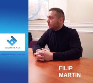 Filip Martin je član Izvršnog odbora Levice Srbije u Novom Sadu