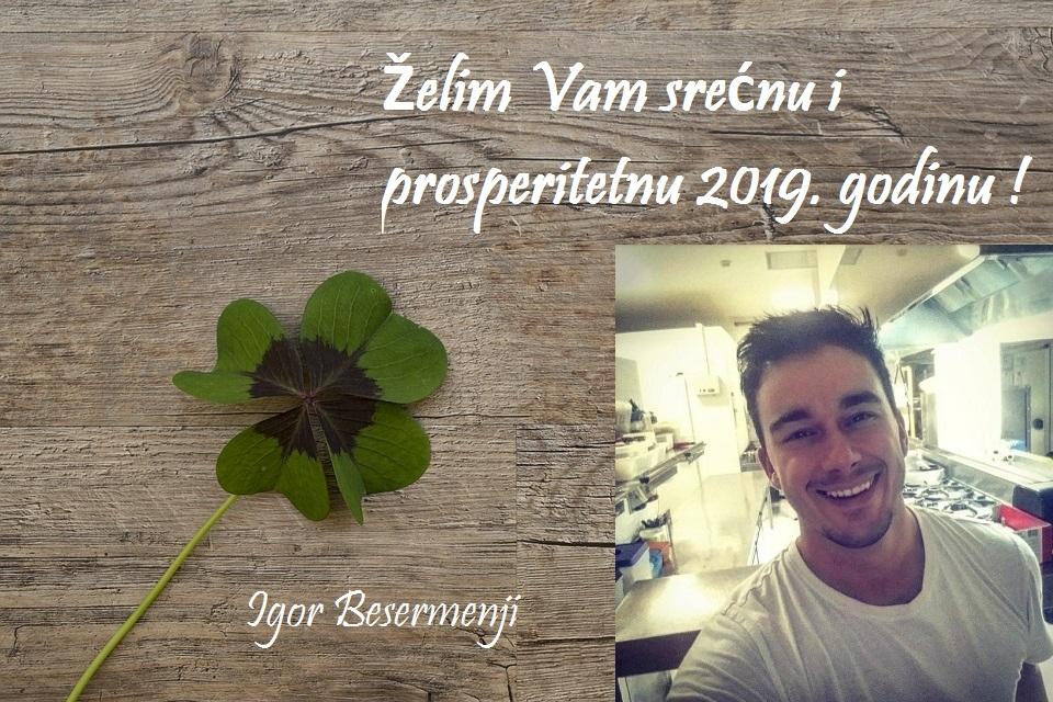 Novogodišnja čestitka Igora Besermenjija
