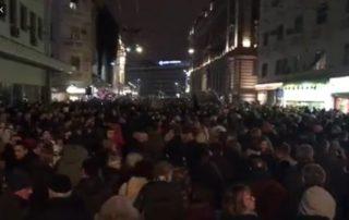 Protest 1 od 5 miliona održan u Beogradu 29. decembra