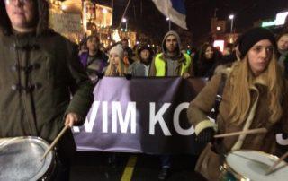 """Protest """"Stop krvavim košuljama"""" održan je u subotu u Beogradu"""
