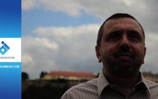 Obren Markov ispred Petrovaradinske tvrđave