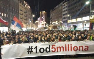 Protest u Beogradu 2. februara