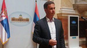 Miroslav Aleksić pred novinarima
