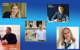 Pet mladih nada politike u Srbiji