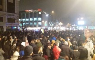 Novosadski protest 8. februara