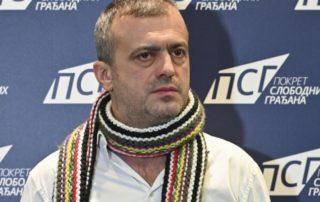 Sergej Trifunović u Pokretu slobodnih građana