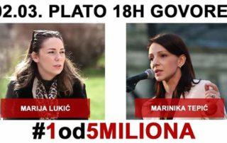 Najava protesta u Beogradu