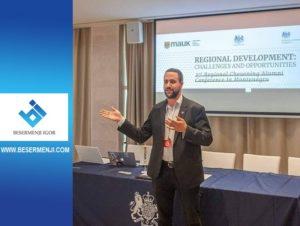 Marko Čomić govori na Chevening konferenciji u Podgorici